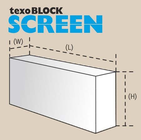 TexoBlock Screen 100 gāzbetona