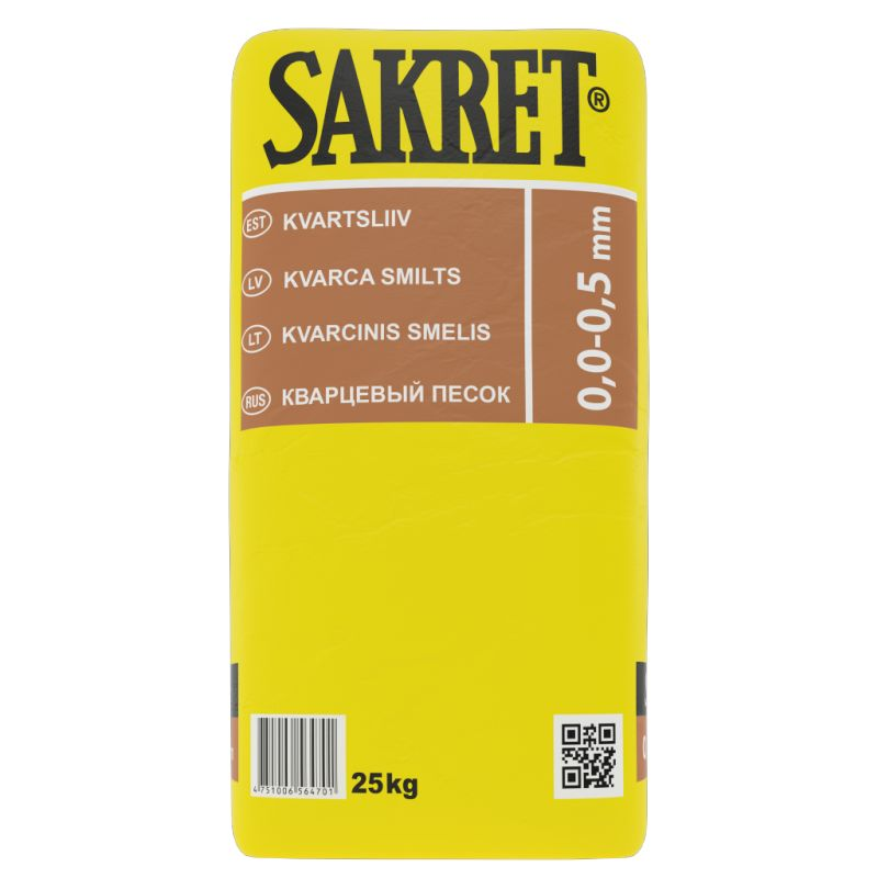 SAKRET Kvarca smilts 0,0-0,5mm
