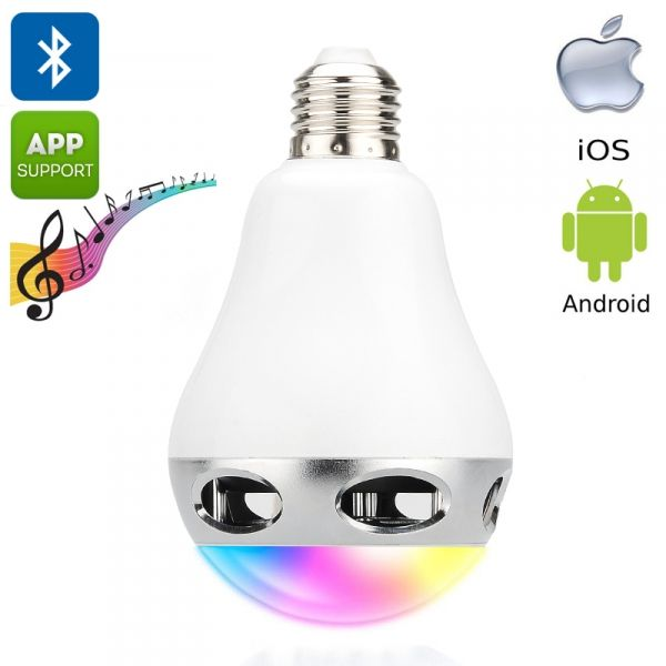 LED spuldze BLUETOOTH E27 13W